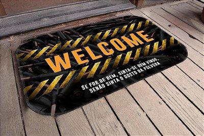 Tapete Welcome Munições (5 Unidades)