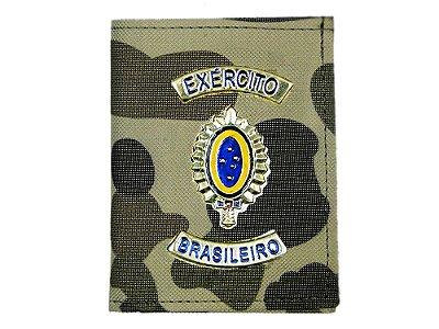 Carteira com Brasão Exército Brasileiro Camuflado Francês (5 Unidades)