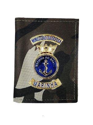 Carteira Ministério da Defesa Marinha Camuflado Francês (5 Unidades)