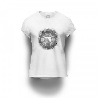 Camiseta Estampada Glock Action