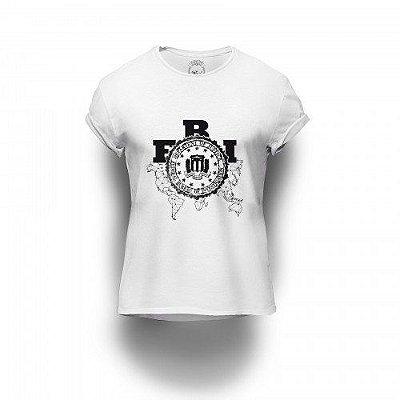 Camiseta Estampada FBI