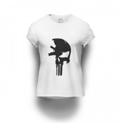 Camiseta Estampada Punisher M4