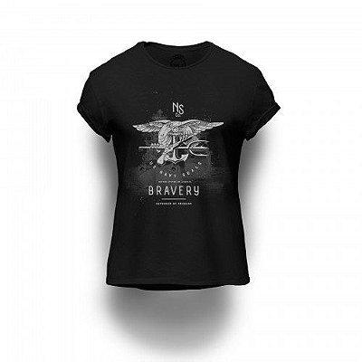 Camiseta Estampada Bravery
