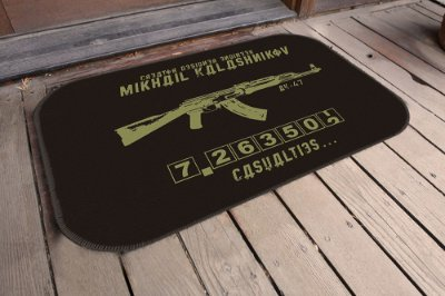 Tapete Kalashnikov (5 Unidades)