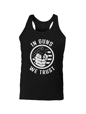 Regata Estampada In Guns We Trust