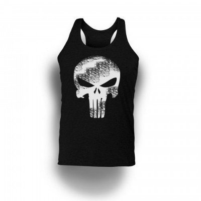 Regata Estampada Punisher