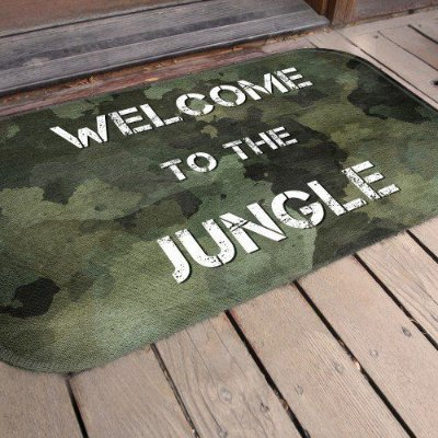 Tapete Welcome Jungle (5 unidades)