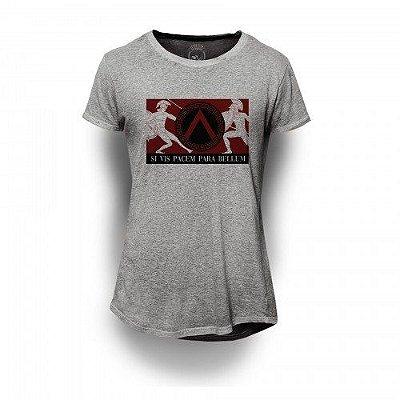 Camiseta Longline Si vis pacem para bellum