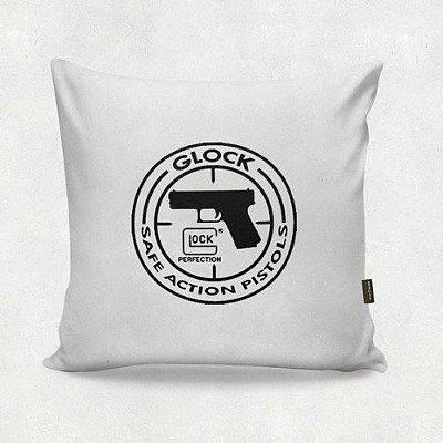 Almofada Militar Glock Action Branca