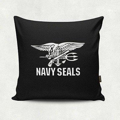Almofada Militar Navy Seals Preta
