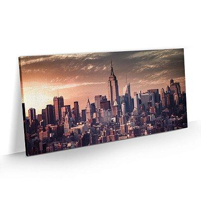 Quadro Cidade Nova York - Pôr do Sol