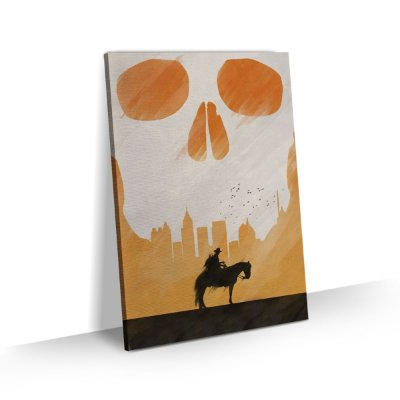 Quadro The Walking Dead - Rick Horse
