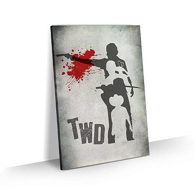 Quadro The Walking Dead - Clan Fight