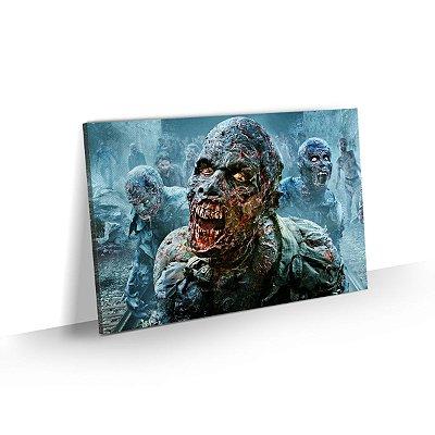 Quadro The Walking Dead - Zombie Atack