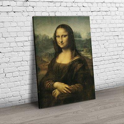 Quadro Monalisa - Medida Real da Obra