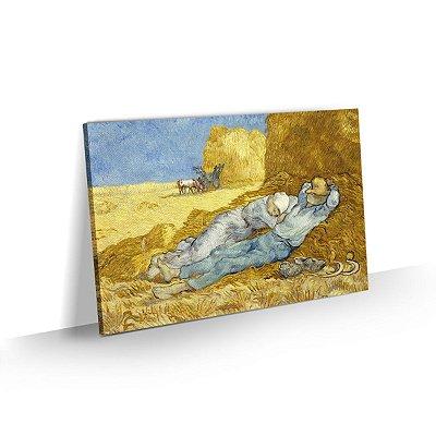 Quadro Van Gogh - A sesta, descanso do meio-dia