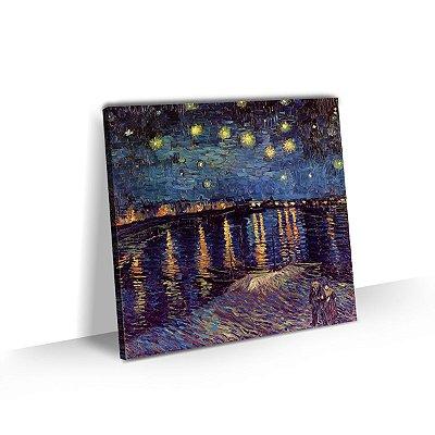 Quadro Van Gogh - Noite estrelada sobre o Ródano
