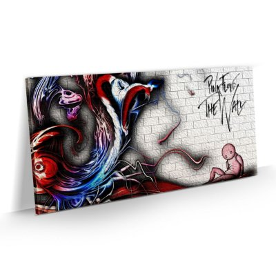 Quadro Banda Rock Pink Floyd - The Wall Art