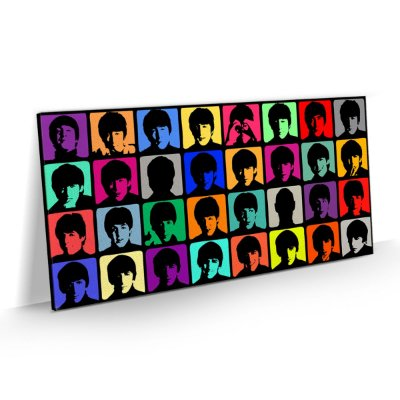 Quadro Banda Rock Beatles - Pop Art