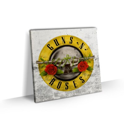 Quadro Banda Rock Guns N' Roses - Logo Art