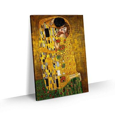Quadro Gustav Klimt - O Beijo