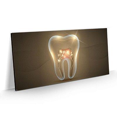 Quadro Consultório Odontológico Dentista - Dente