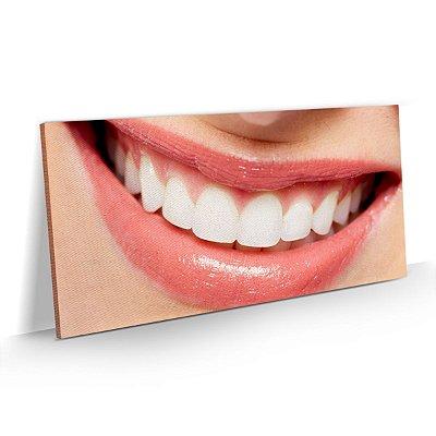 Quadro Consultório Odontológico Dentista - Sorriso 01