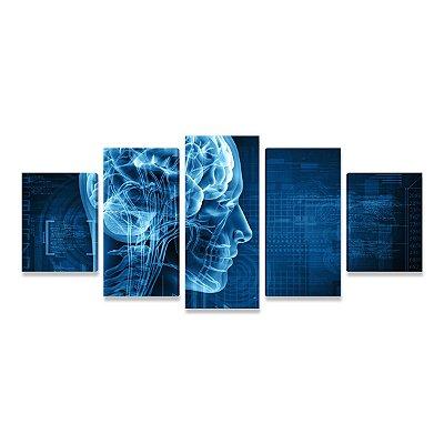 Quadro Consultório Médico Neurologia - 5 telas