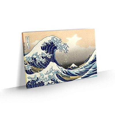 Quadro Hokusai - A Grande Onda de Kanagawa - Oriental