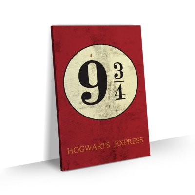 Quadro Harry Potter Hogwarts Express Para Quarto Escritório