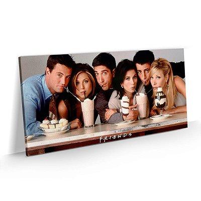 Quadro Friends Série Personagens Milk Shake