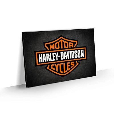 Quadro Logo Harley Davidson