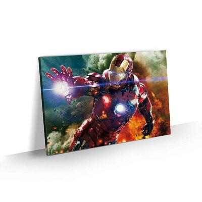 Quadro Super Herói - Homem de Ferro