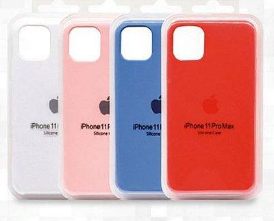 Capa Premium Aveludada com Embalagem para iPhone