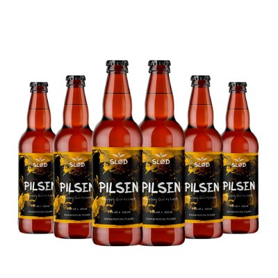 Box Slod 6 - Pilsen - 6 garrafas 600ml