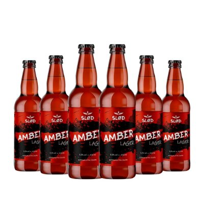 Box Slod 6 - Amber Lager - 6 garrafas 600ml
