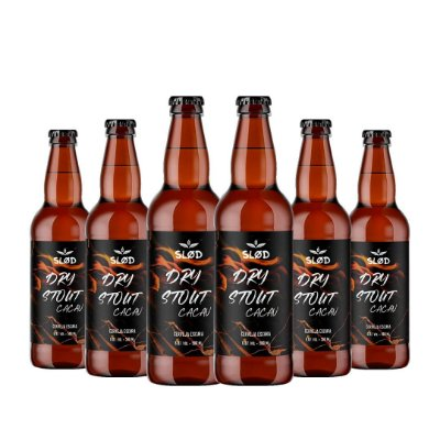 Box Slod 6 - Dry Stout Cacau - 6 garrafas 500ml