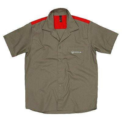Uni Camisa Operacional MC  - Veolia