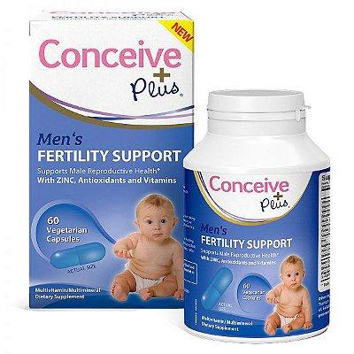 Conceive Plus - Suplemento Masculino - 60 cápsulas vegetarianas