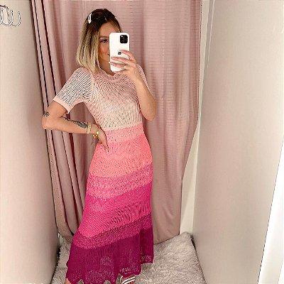 Vestido Em Tricot Monique