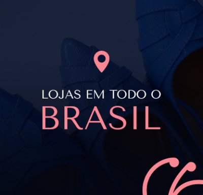 Lojas em todo o Brasil