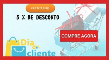 5% Off Dia do Cliente