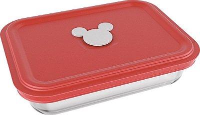 Assadeira Retangular Facilita Disney Retangular 750ml Com Tampa - Nadir Figueiredo