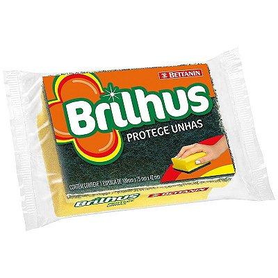 Esponja Brilhus Protege Unhas - Pacote C/ 12 unidades - Bettanin