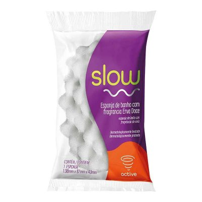 Esponja Slow Active Erva Doce - Bettanin
