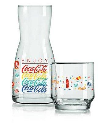 Jogo de Moringa Summer Coca-Cola Com 2 Peças – Nadir Figueiredo