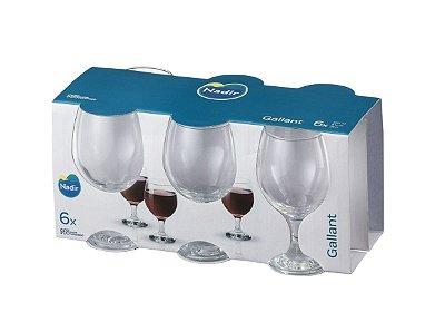 Jogo de Taça  Gallant Vinho Branco 220ml Com 6 unidades – Nadir Figueiredo