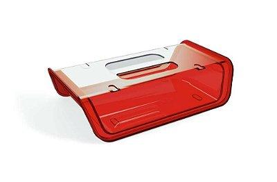 Porta Frios Vermelho Translúcido – UZ