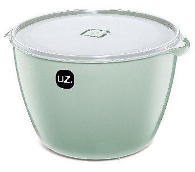 Pote Multiuso Premium 10 Litros Verde Menta Sólido - UZ