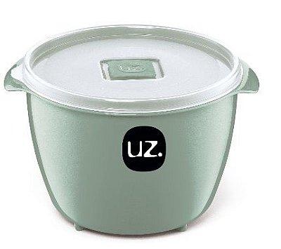 Pote Multiuso Premium 1,5 Litros Verde Menta Sólido – UZ